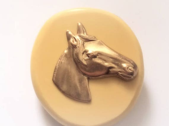 Horses Head flexible silicone mold/ chocolate mold/ candy mold/