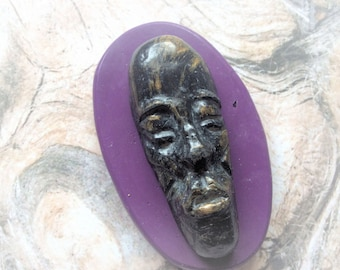 Large African/ Tribal Male face mold