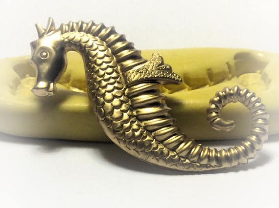 large Seahorse silicone rubber mold