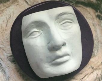 Zen Face  flexible silicone mold