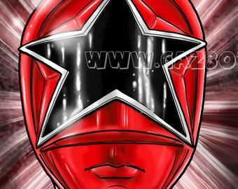 Power Rangers: Zeo Ranger V Red