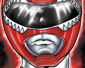 Power Rangers: MMPR  Red Ranger