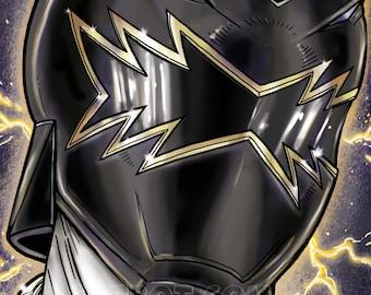 Power Rangers: Dino Thunder Black