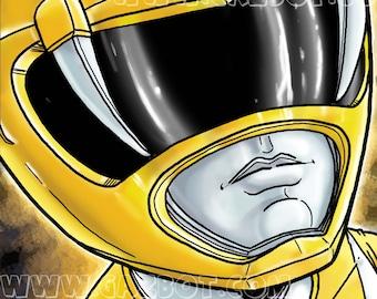 Power Rangers: MMPR  Yellow Ranger