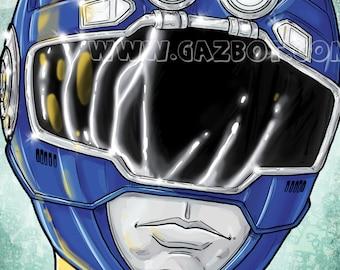 Power Rangers: Turbo Blue Ranger
