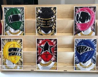 Power Rangers Zeo AKA Ohranger : set of 6