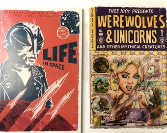 Thee 100s : Comic Anthology 2 pack - Includes Both Books!