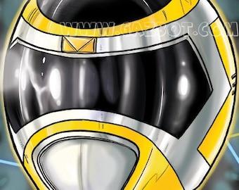Power Rangers: In Space- Yellow Ranger