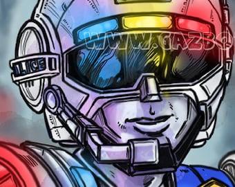 Power Rangers: Turbo - Blue Senturion