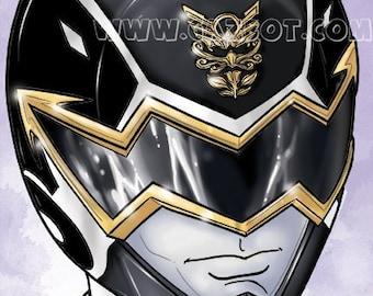 Power Rangers: Megaforce - Black Ranger