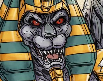 Power Rangers: Mighty Morphin - King Sphinx