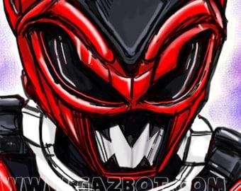 Power Rangers: In Space- Psycho Red Ranger