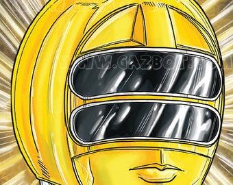 Power Rangers: Zeo Yellow Ranger