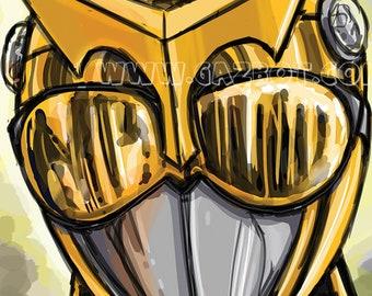 Power Rangers Beast Morphers -Gold Ranger