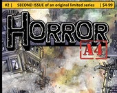 "Issue #2 of ""The Horror A4"" my Independent Kaiju (giant monster) comic."