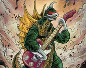 Gigan with Guitar