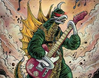 Gigan with Guitar