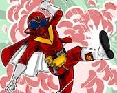 Super Sentai Gorangers : Aka Ranger