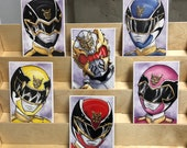 Power Rangers Megaforce AKA Goseiger : set of 6