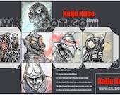 Kaiju Kube (Godzilla Showa era)