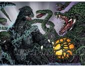 Biollante vs Godzilla