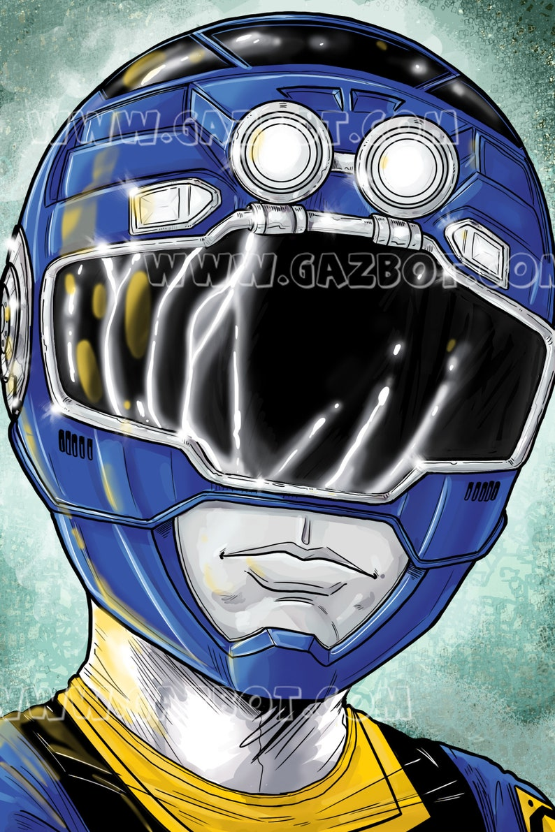 Power Rangers: Turbo Blue Ranger image 0