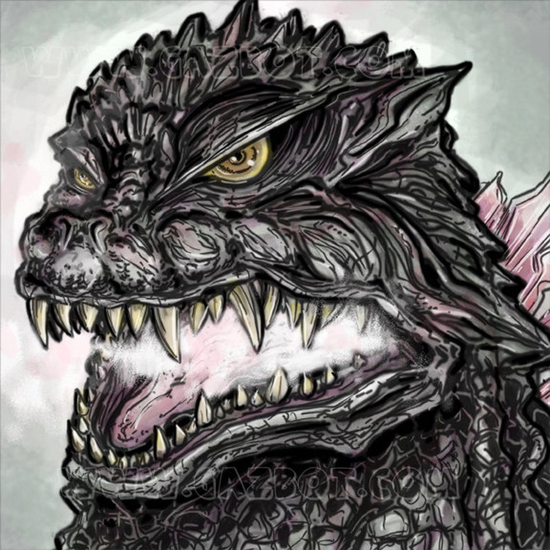 Godzilla : Gojira 2000 version image 1