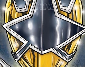 Power Rangers Samurai : Gold Ranger