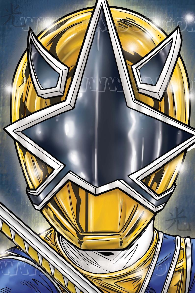 Power Rangers Samurai : Gold Ranger image 1