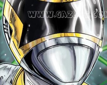 Power Rangers: In Space- Silver Ranger