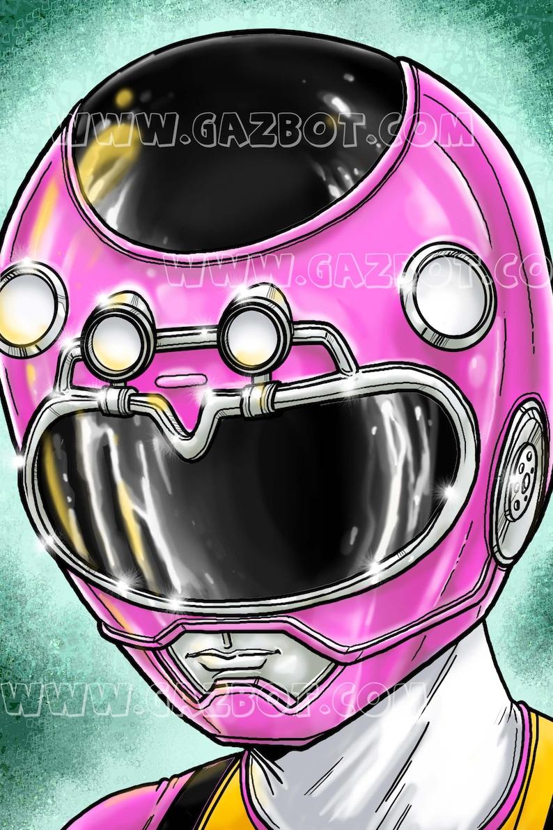 Power Rangers: Turbo Pink Ranger image 1