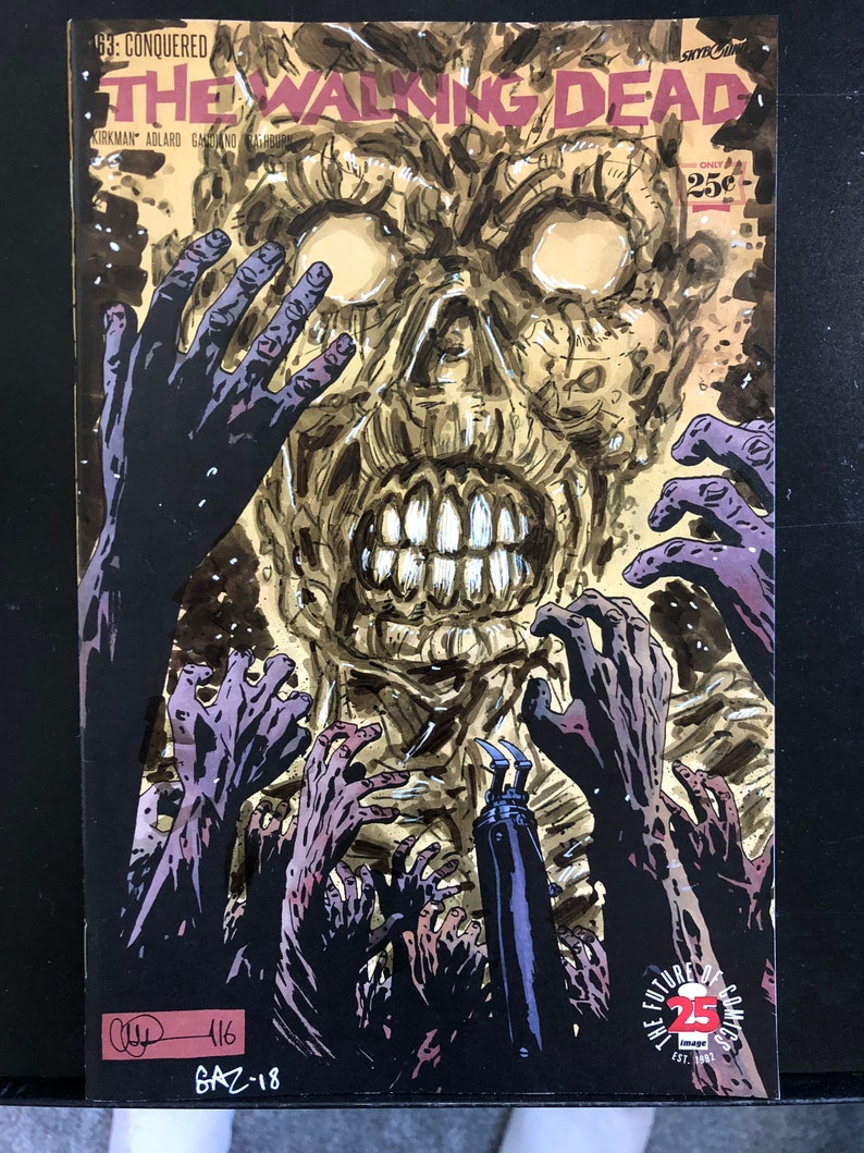 Sketch Cover  The Walking Dead:  Zombie 2 image 0