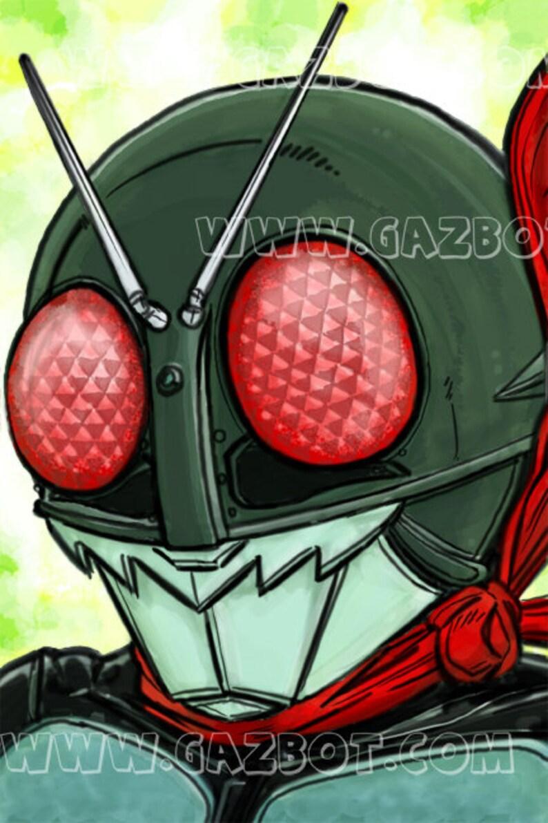 Kamen Rider / Masked Rider : Original version  Showa era image 0