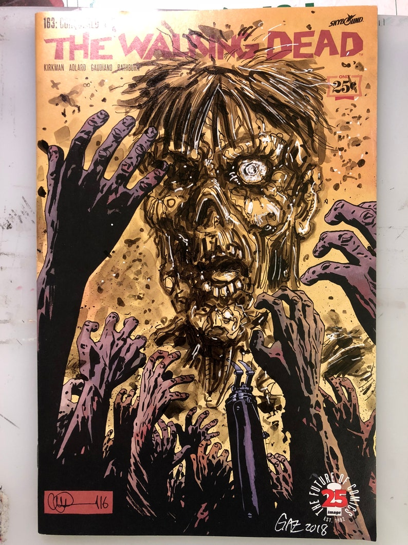 Sketch Cover  The Walking Dead:  Zombie 1 image 0