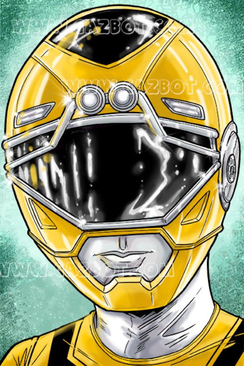 Power Rangers: Turbo Yellow Ranger image 1