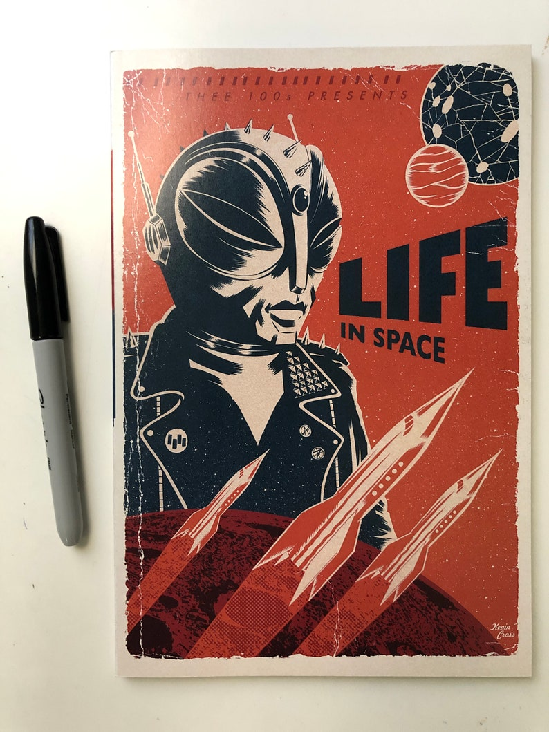 Thee 100s : Life in Space a Comic Anthology  Book one image 0