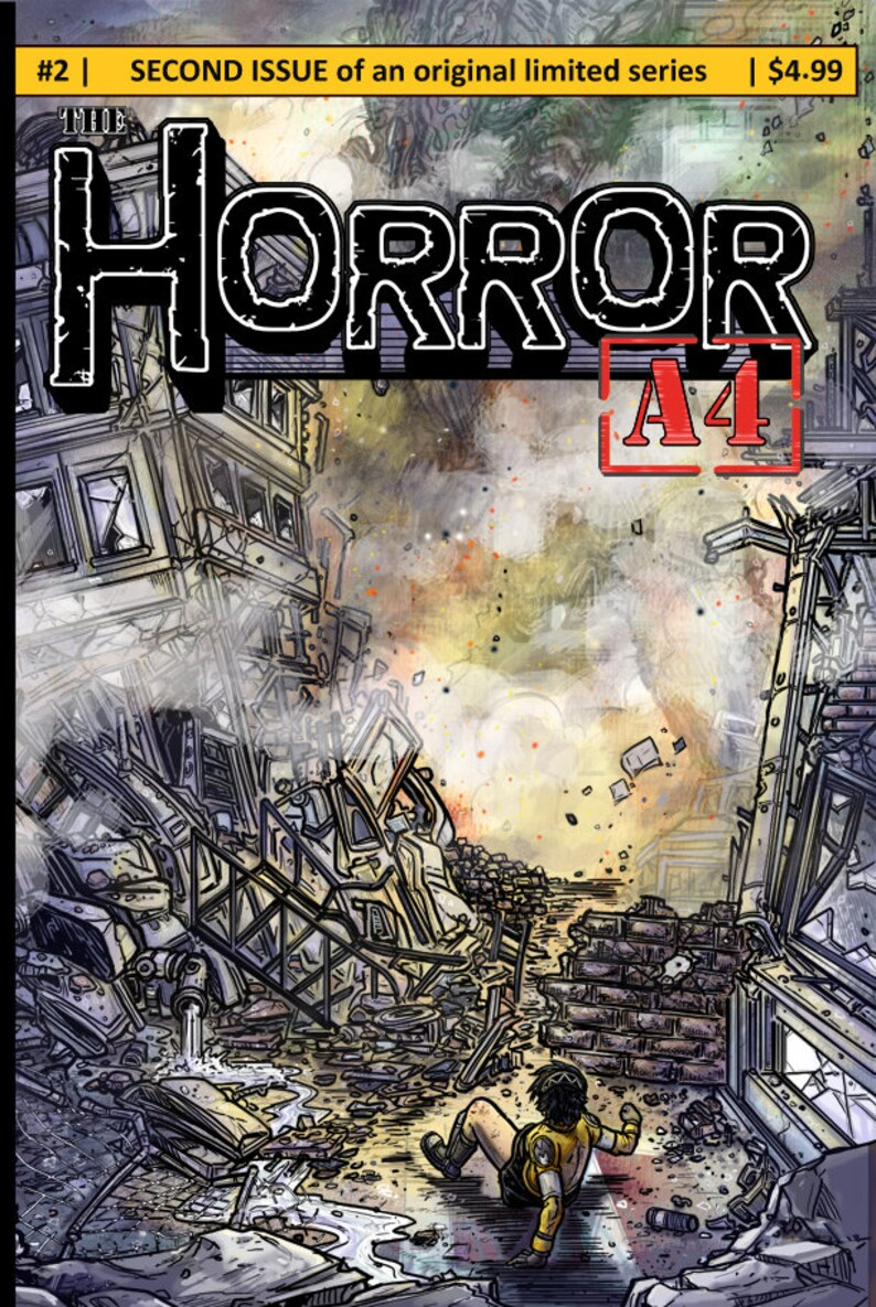 Issue 2 of The Horror A4 my Independent Kaiju image 0