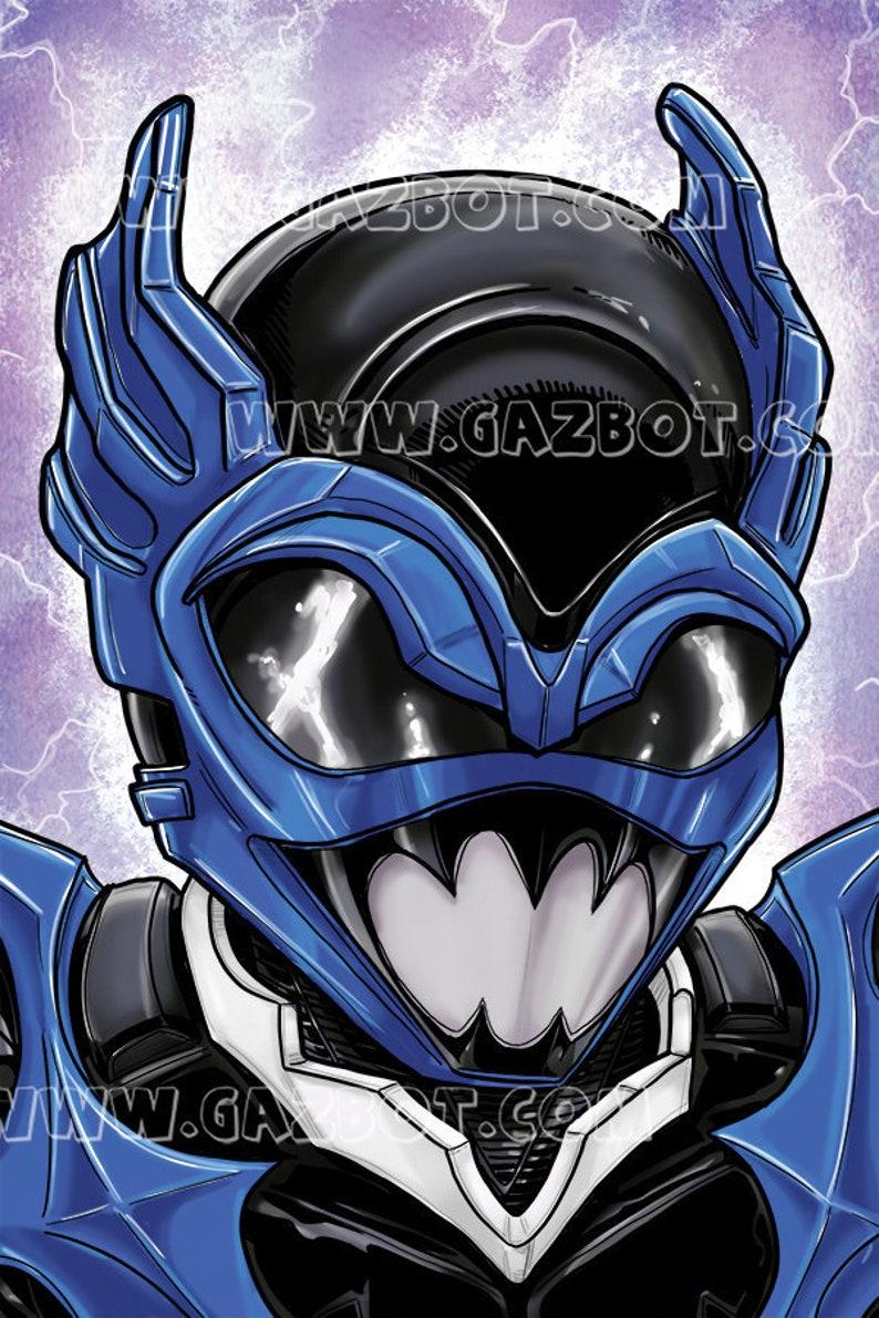 Power Rangers: In Space Psycho Blue Ranger image 0