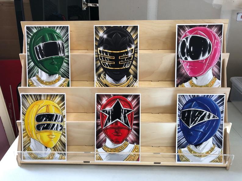 Power Rangers Zeo AKA Ohranger : set of 6 image 0