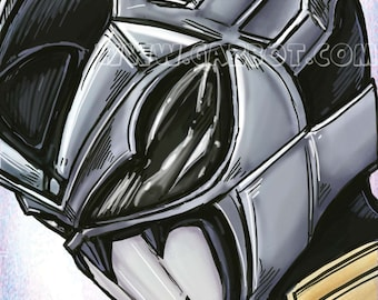 Power Rangers: In Space- Psycho Silver Ranger