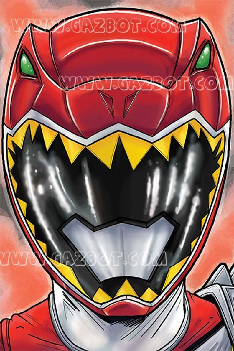 Power Rangers Dino Charge :  Red Ranger image 0