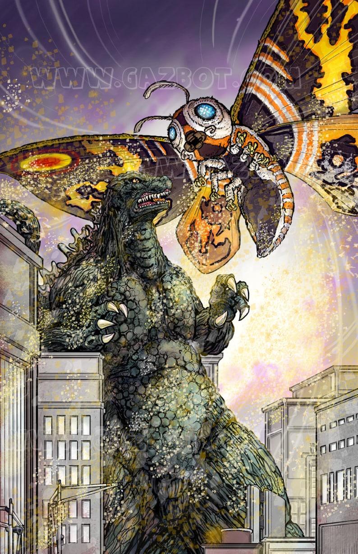 Mothra vs Godzilla image 1