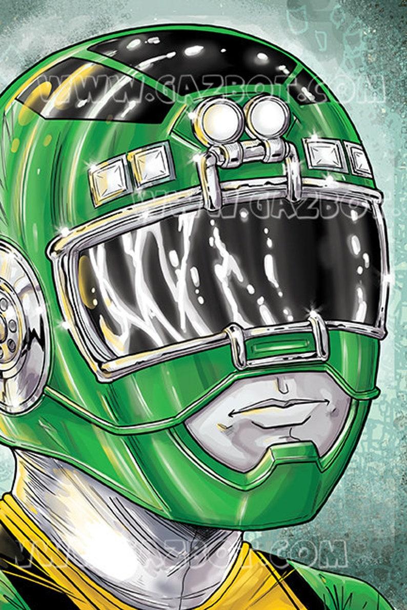Power Rangers: Turbo Green Ranger image 0