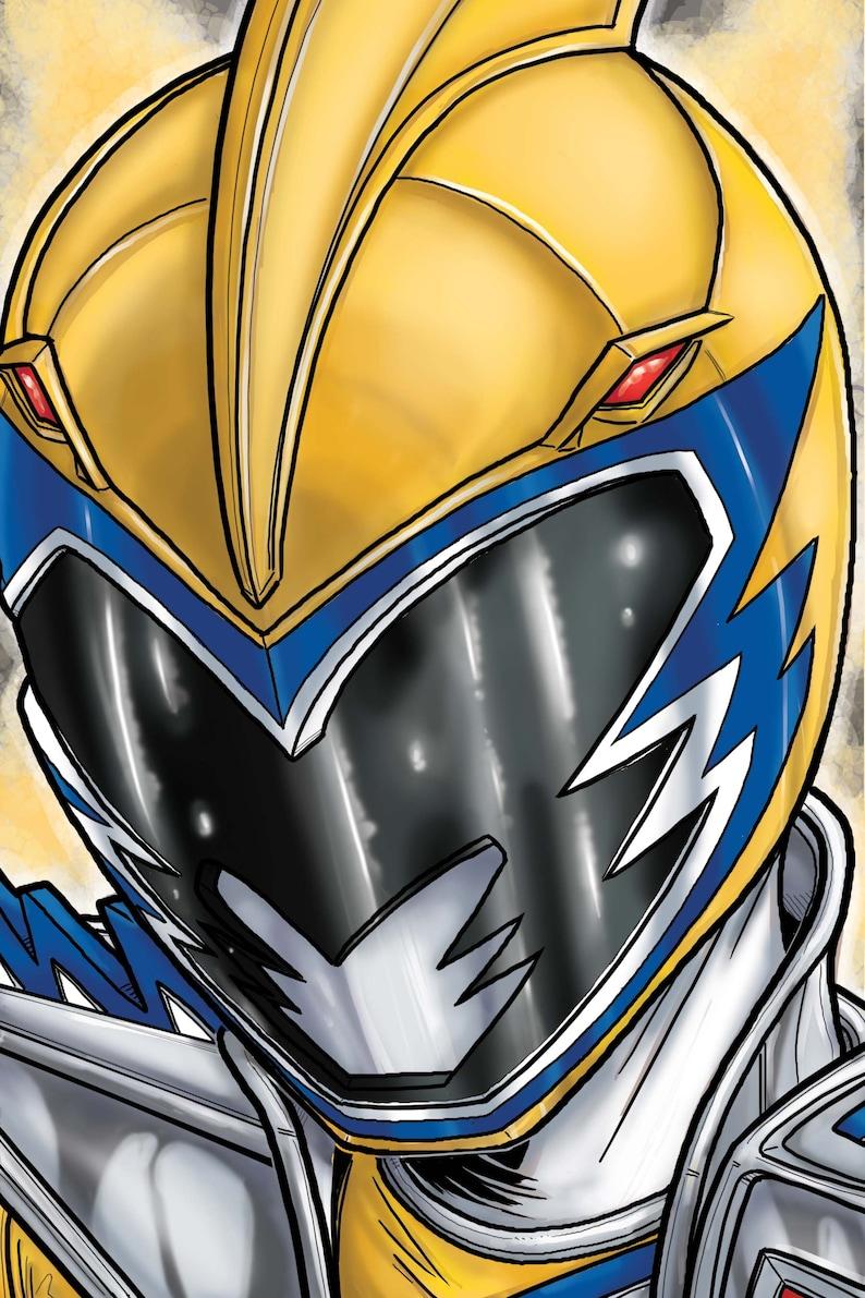 Power Rangers Dino Charge :  Gold Ranger image 0