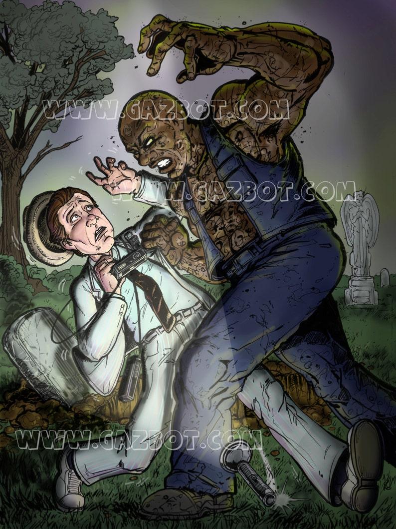 Kolchack the Nightstalker vs the Zombie  image 0