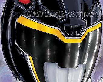 Power Rangers Dino Charge : Black Ranger