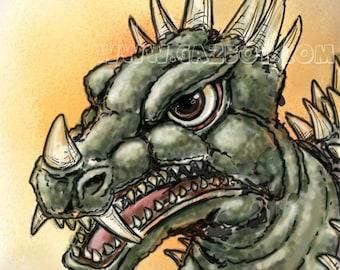 Godzilla: Anguirus - 1968 Showa version