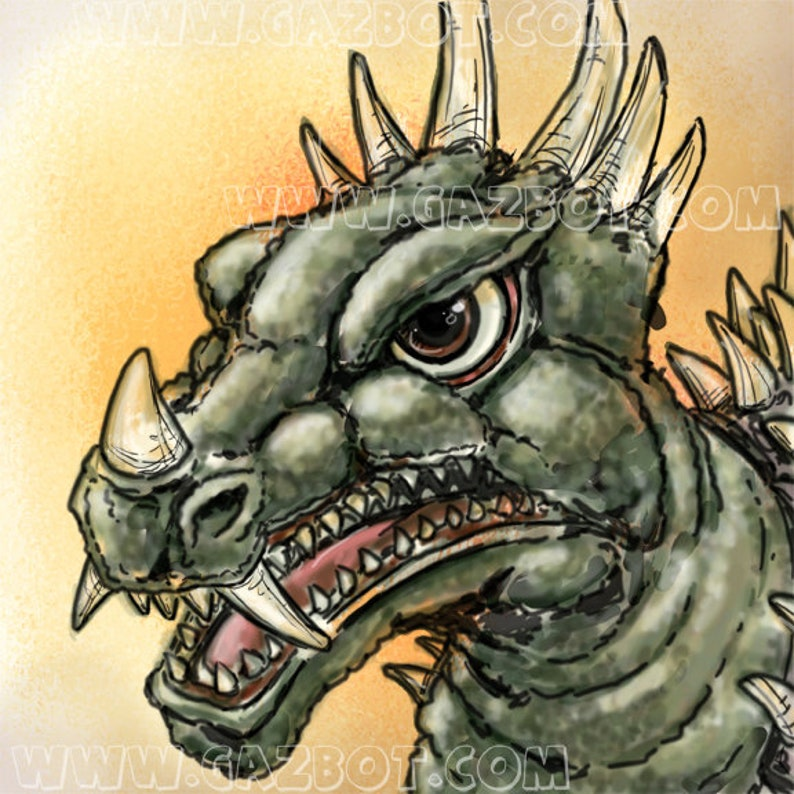 Godzilla: Anguirus  1968 Showa version image 1