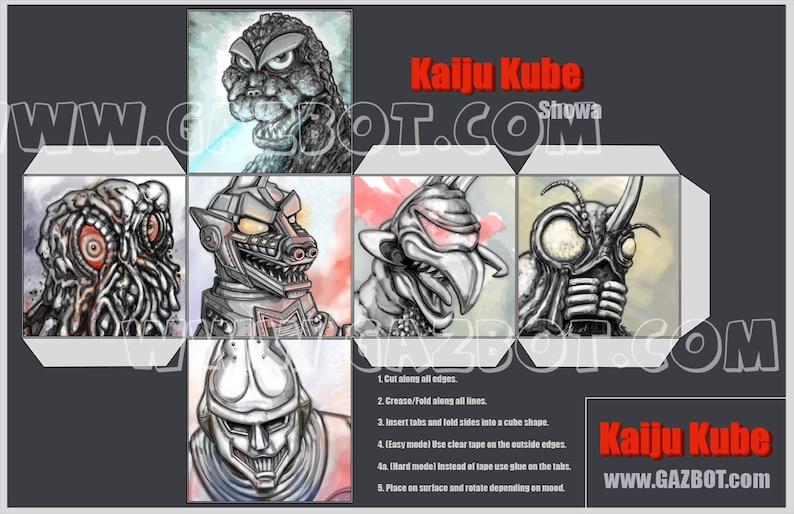 Kaiju Kube Godzilla Showa era image 1