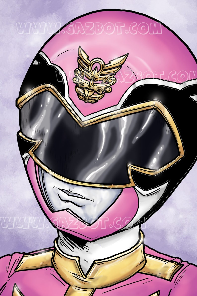 Power Rangers: Megaforce  Pink Ranger image 0